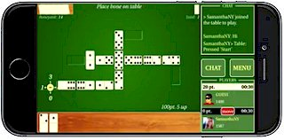 Playing Dominoes Live on iPhone